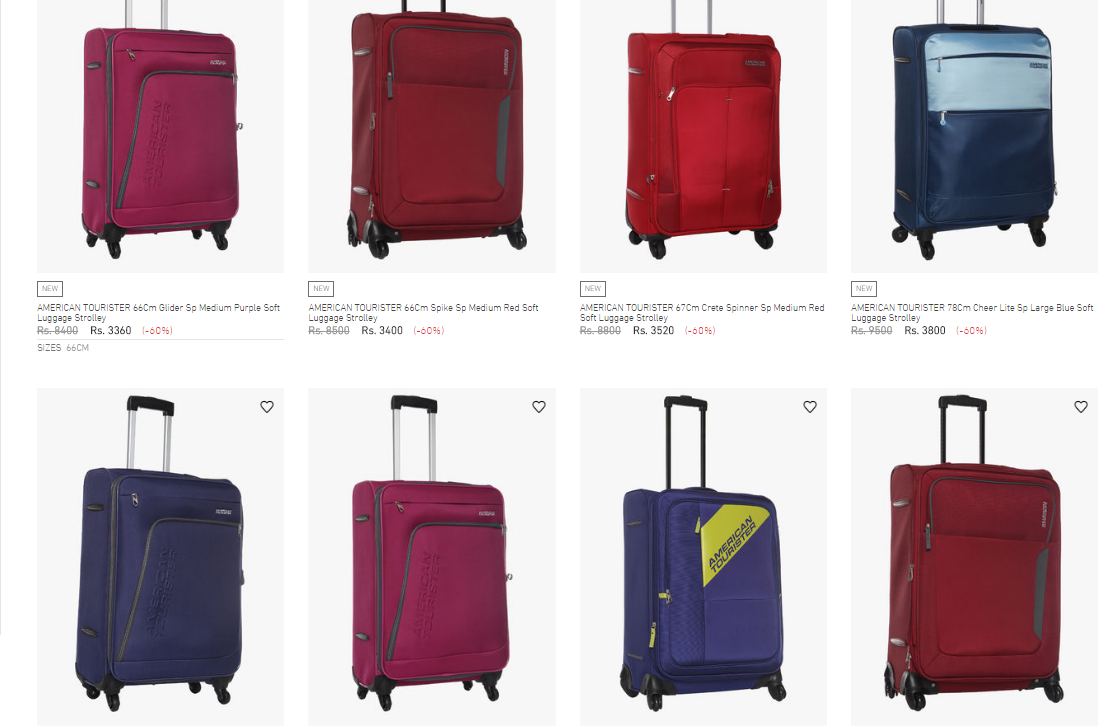 luggage bags offers mc luggage