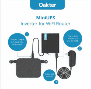 UPS for WiFi Routers, Modems, SetTop Boxes and CCTV | 12V UPS | TechBuy.in