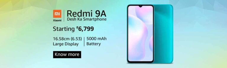 Redmi 9 Series - Great Indian Festival 2020 -Amazon - TechBuy.in