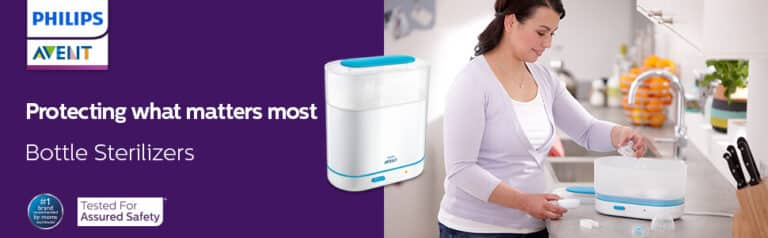 Philips Avent 3-In-1 Electric Steam Sterilizer - Bottle Warmer - Review - TechBuy.in